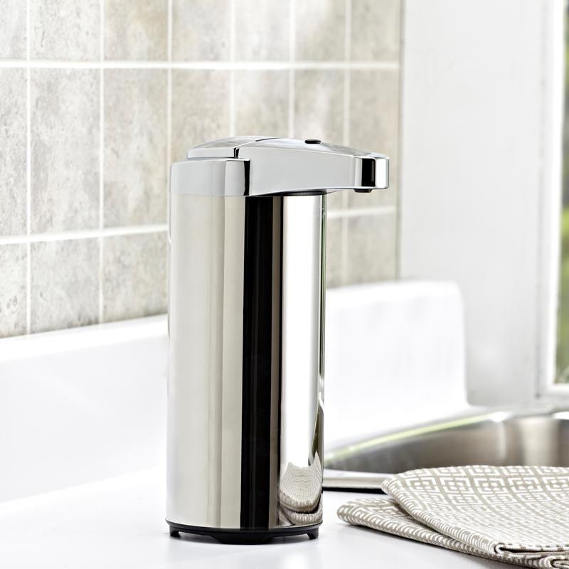 ksp sensio automatic soap dispenser 500 ml chrome kitchen stuff rh za pinterest com