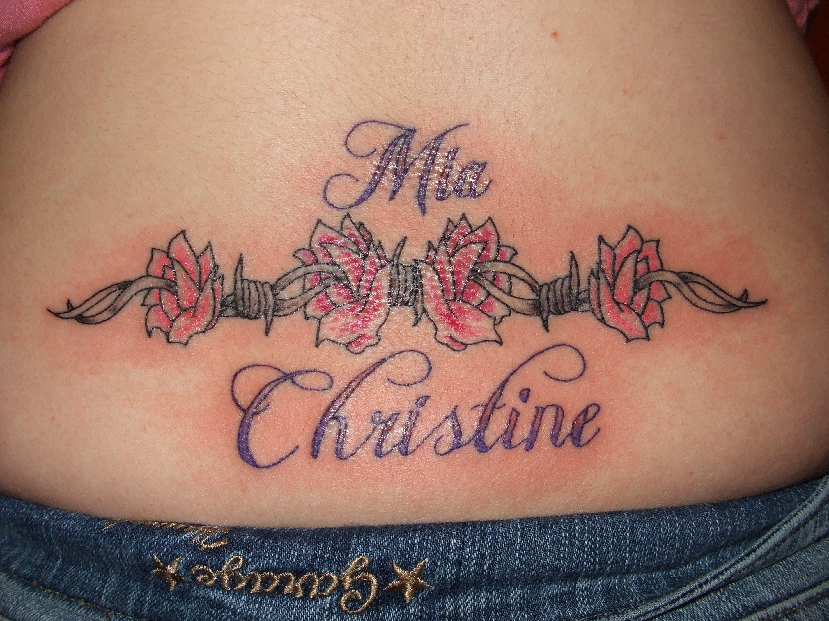 Tattoo designs on the back - Tattoo Lower Back Tattoo Designs