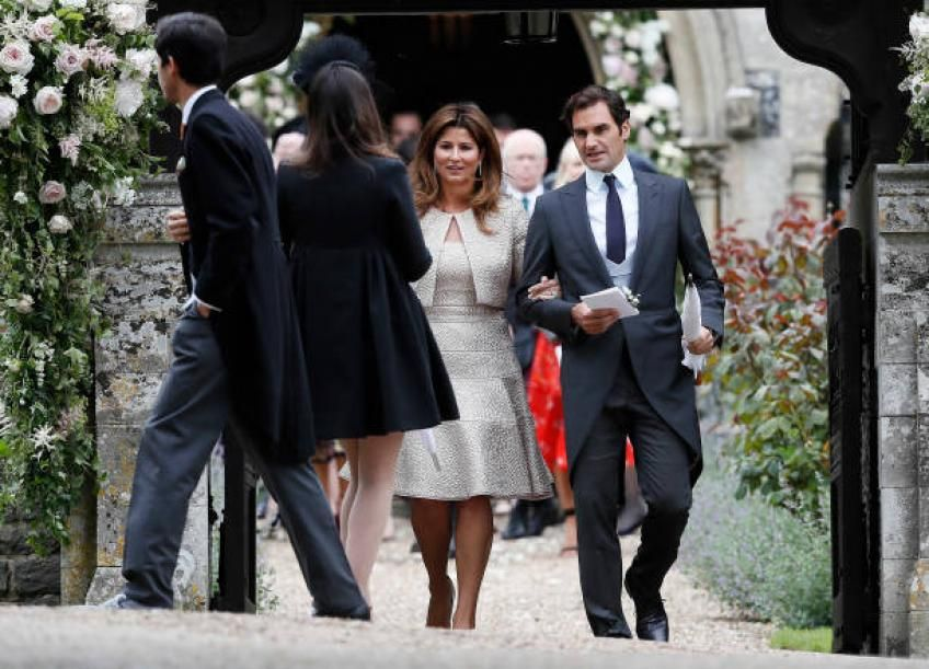 Half Of Roger Federer S Success Is Given By Wife Mirka Says Expert Pippa Middleton Wedding Pippa Middleton Man And Wife