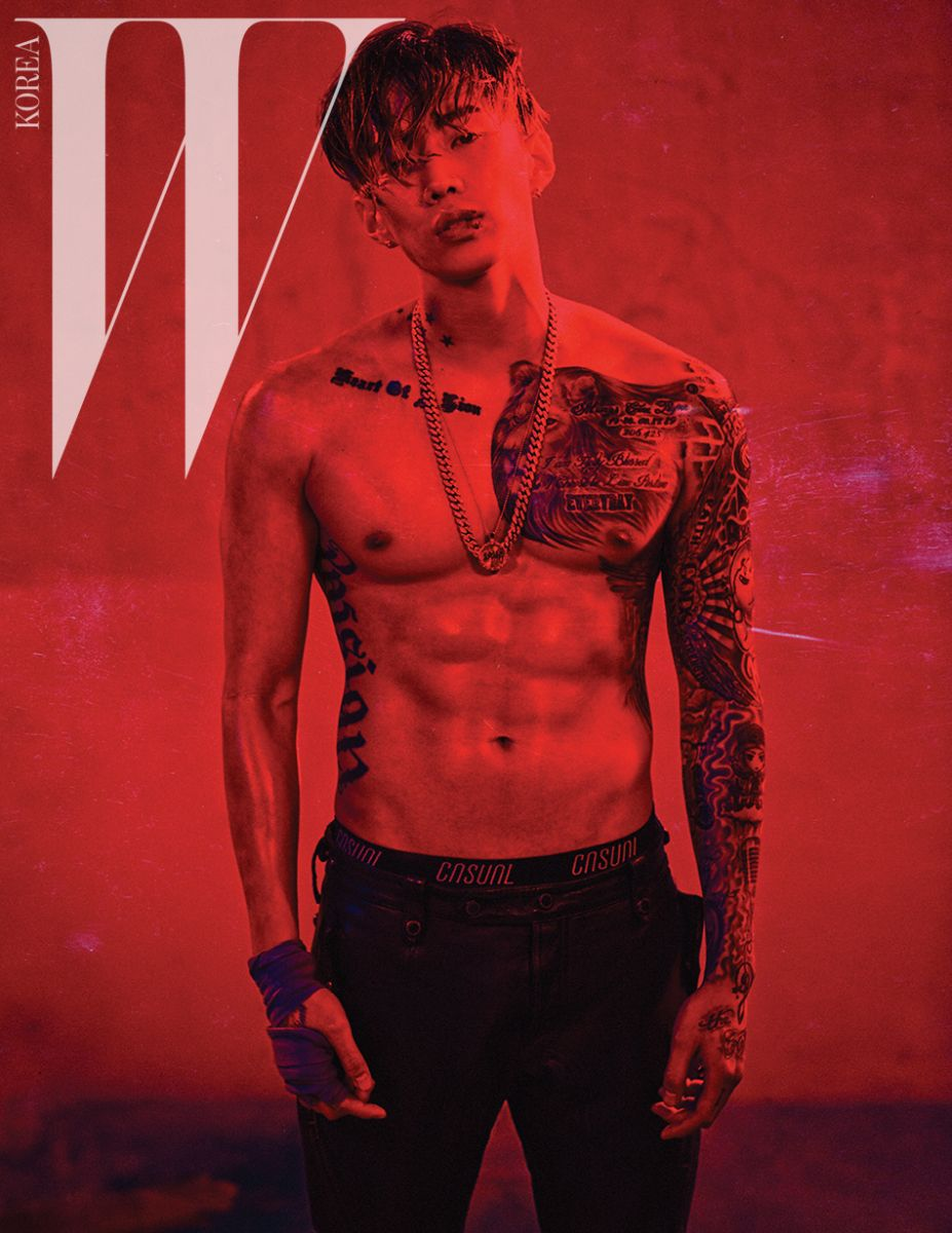 Jay Park - W Magazine March Issue '16