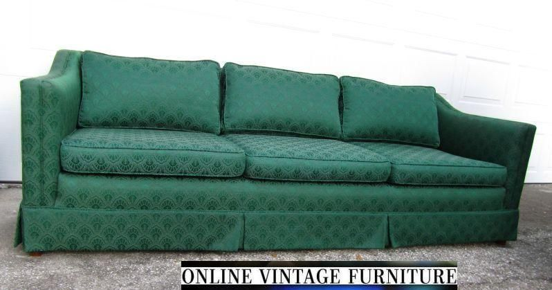Astonishing 1940S Vintage Sofa Couch Davenport Long Mid Century Pdpeps Interior Chair Design Pdpepsorg