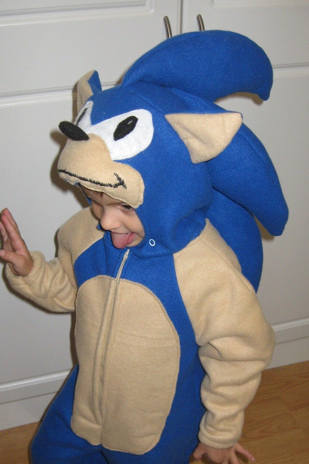 How to make your own female sonic character ehow - Sonic The Hedgehog Costume For Halloween Or Play Children S Sizes 5 To 8