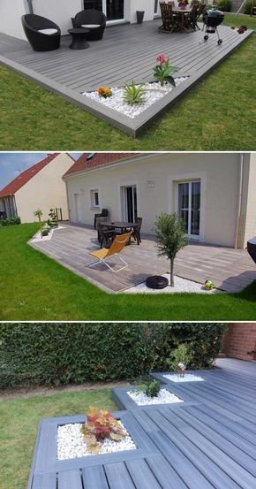 Ideas Decorativas De Grava Blanca Muebles De Jardín