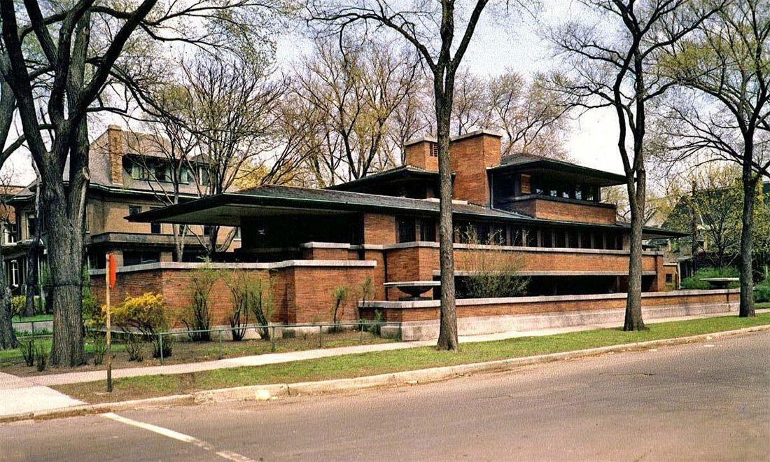 Https Cursarhitectura Files Wordpress Com 2014 11 C7 Flw 01 Jpg In 2020 Frank Lloyd Wright Homes Robie House Prairie House