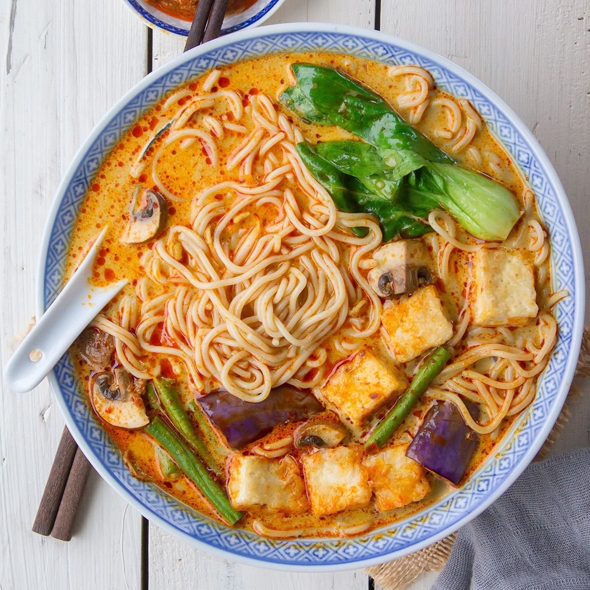 Creamy Curry Ramen with Lotus Foods Organic Millet & Brown Rice Ramen  Noodles | Recipe in 2020 | Curry ramen, Healthy curry recipe, Easy baby food  recipes