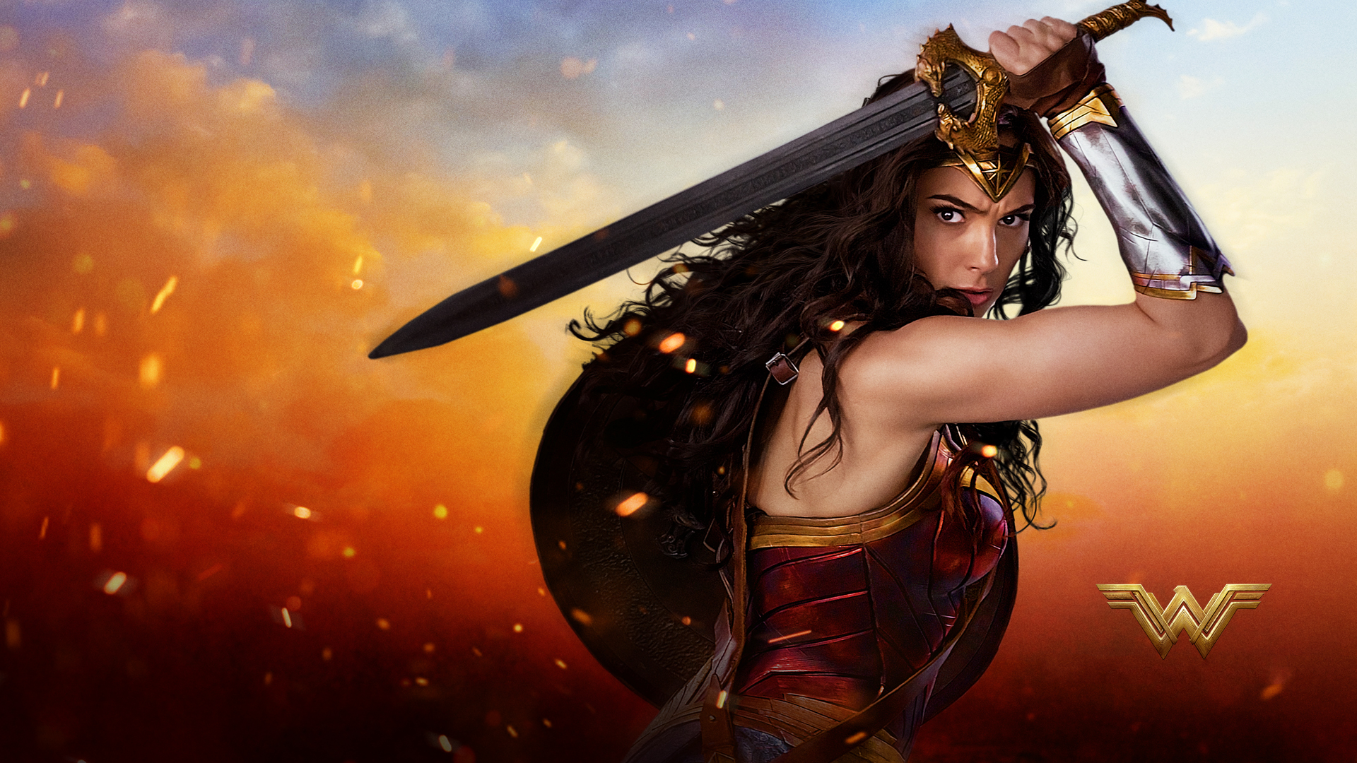 Wonder Woman Hd Wallpaper Background Image 1920x1080 Id