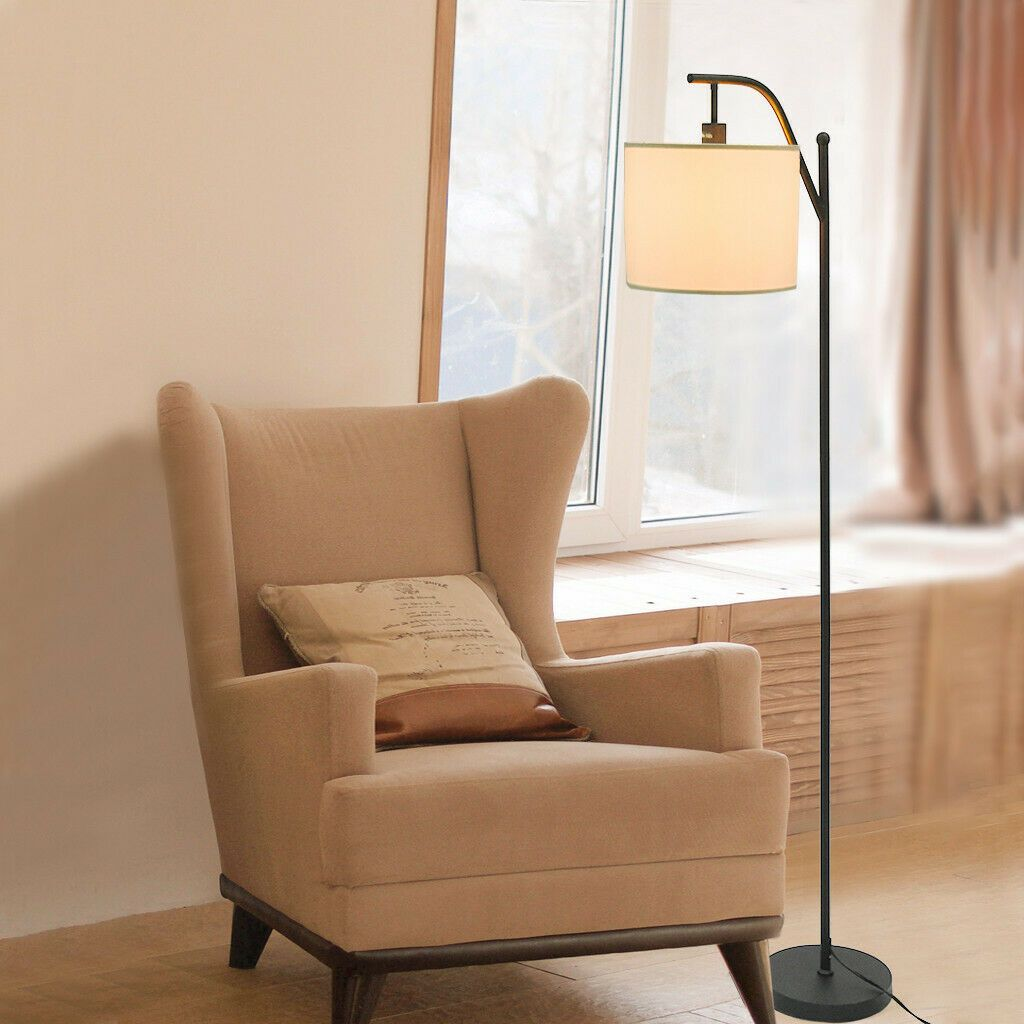 Led Floor Lamps Reading Light Sunlight Spectrum Home Study Lamp