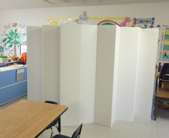 5 12 ft Tall Durable Cardboard DIY Room Divider Classroom ideas