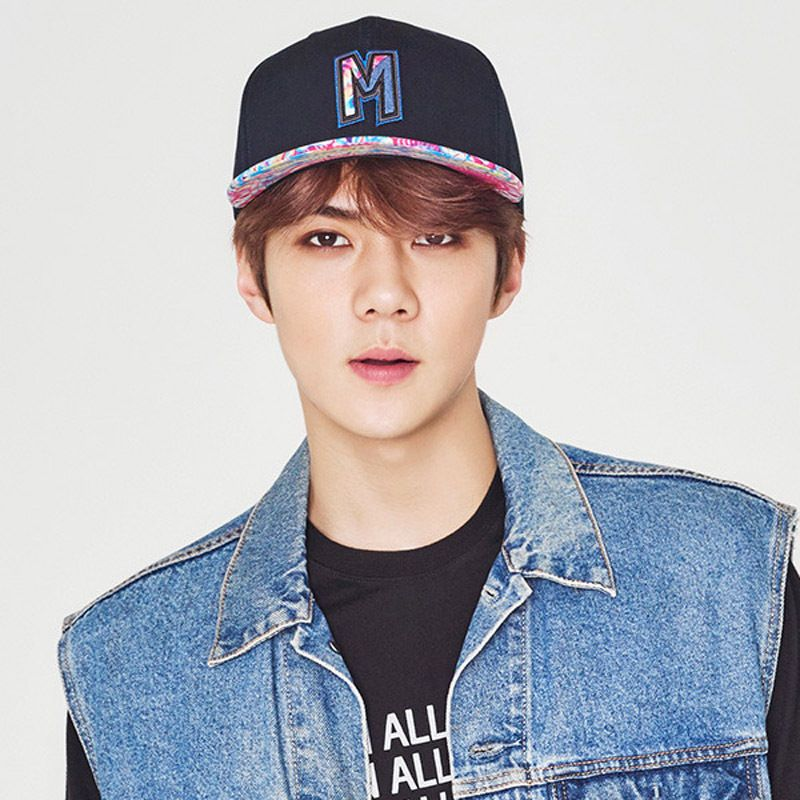 Hats On x EXO [EXO_SEHUN]SUPER BOUND SNAPBACK 313 (BK) #HATSON