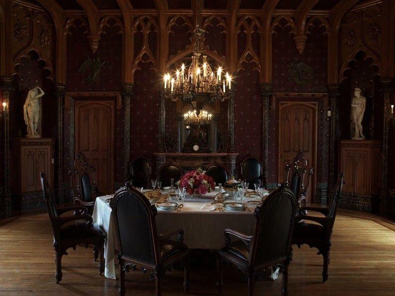 The Dining Room At Lyndhurst Mansion Ny
