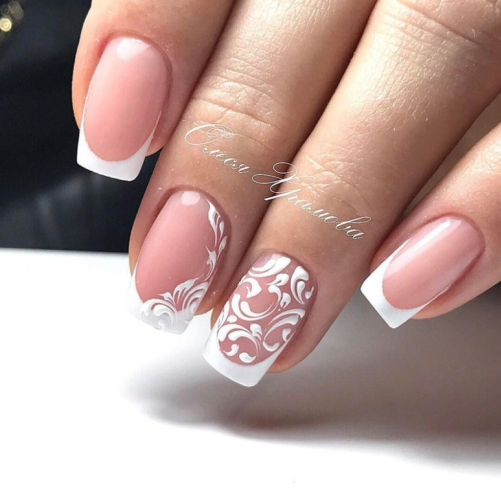 Beautiful French Nail Art Designs: Pin By Lillian Art On Nail Art