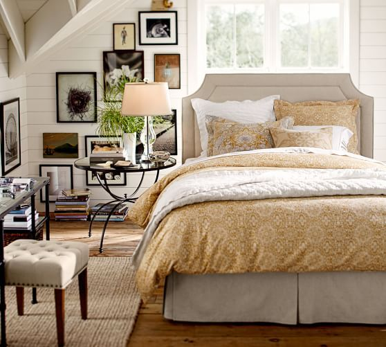 Ardley Upholstered Bed In 2020 Cottage Style Bedrooms Farmhouse Style Bedrooms Remodel Bedroom