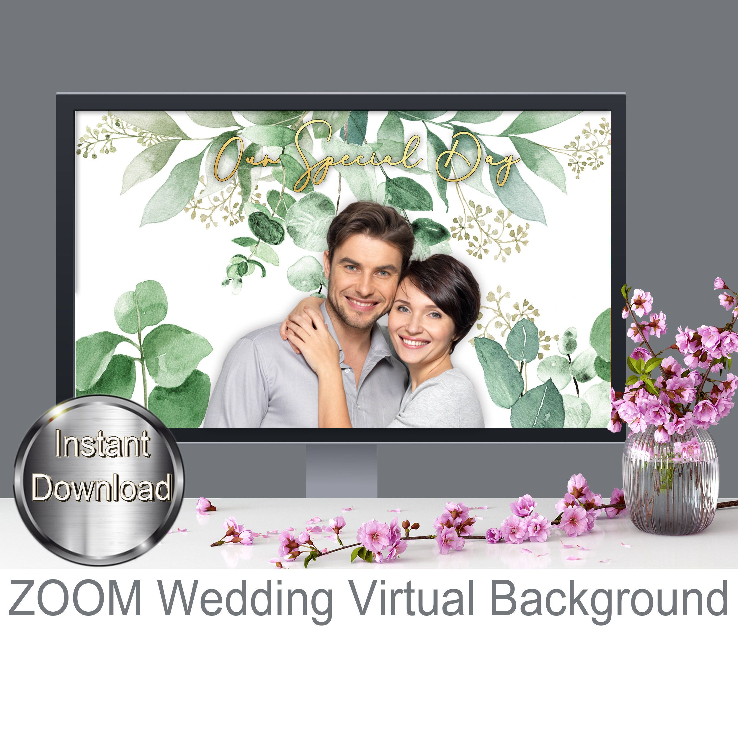 Wedding Background For Zoom