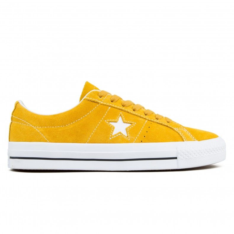 85195e73efd Converse Cons One Star Pro OX (Mineral Yellow White Black) - Consortium.