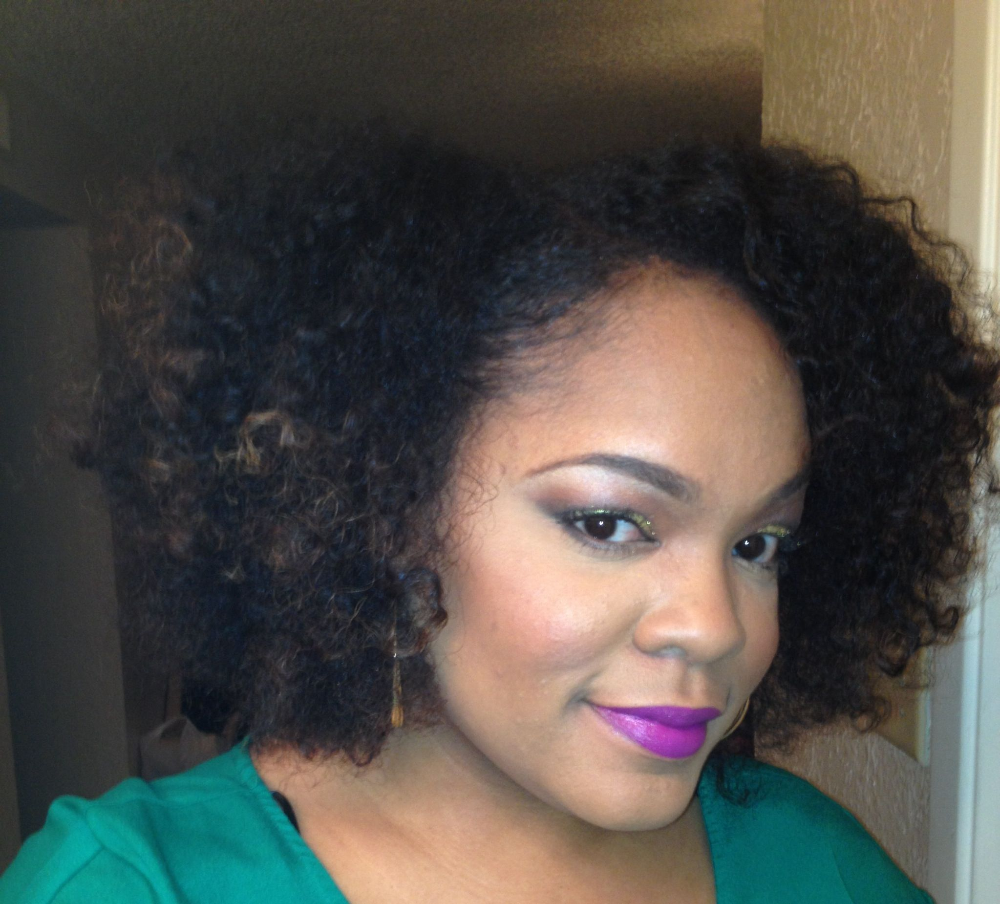 Twist out on blow dried natural hair  Curly Girl  Pinterest  Blow