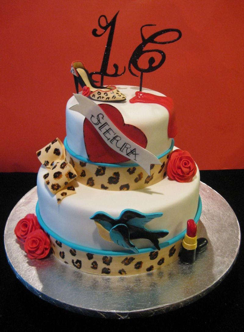 Rockabilly Birthday Cake Tortendeko Geburtstag Und