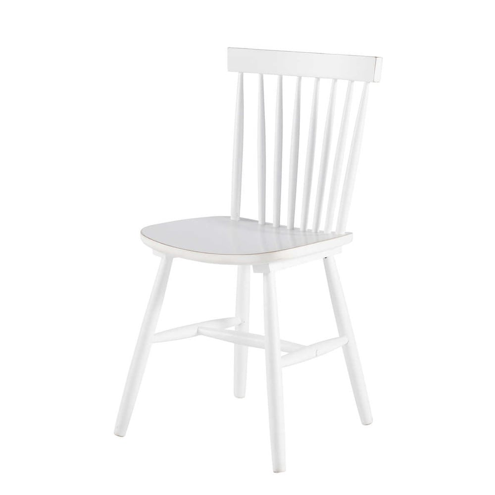 stuhl im vintage stil aus kautschukbaum wei new in pinterest sillas sillas vintage und. Black Bedroom Furniture Sets. Home Design Ideas