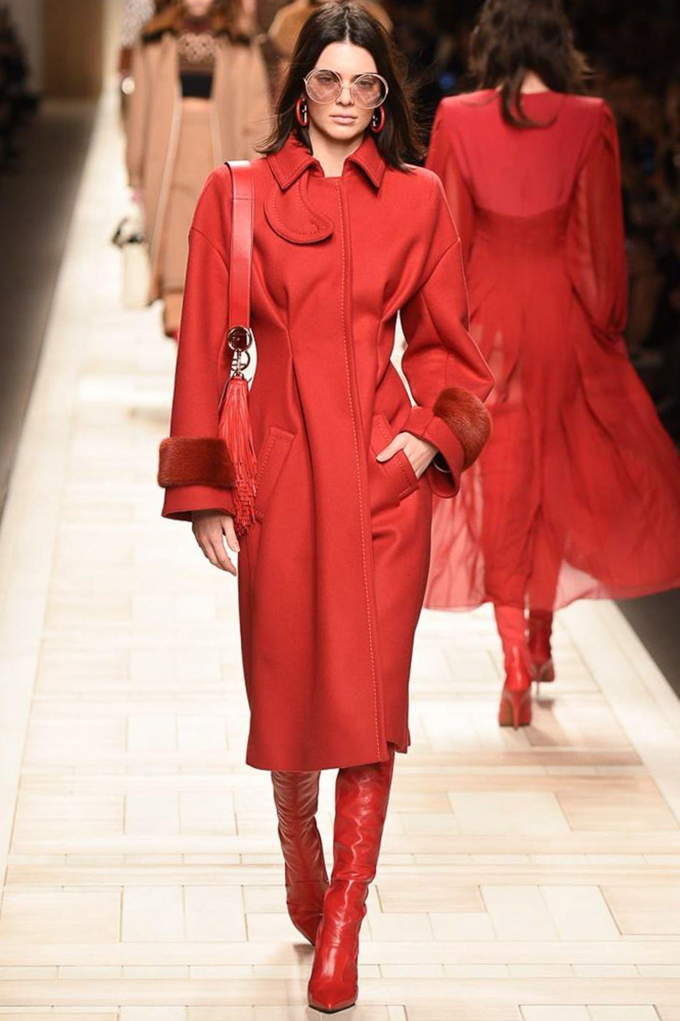 Fashionable female coats autumn-winter 2017-2018 year 35