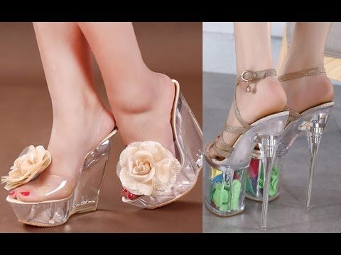 2d4752f2f70 Transparent Sandals for Women - YouTube