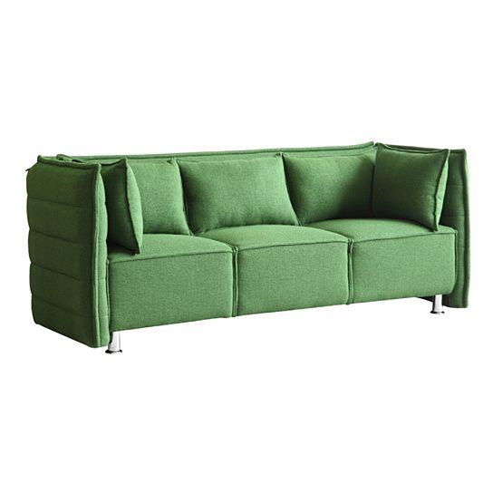 Buy Fine Mod Imports Sofata Sofa, Green by Fine Mod Imports   Dot & Bo   $860