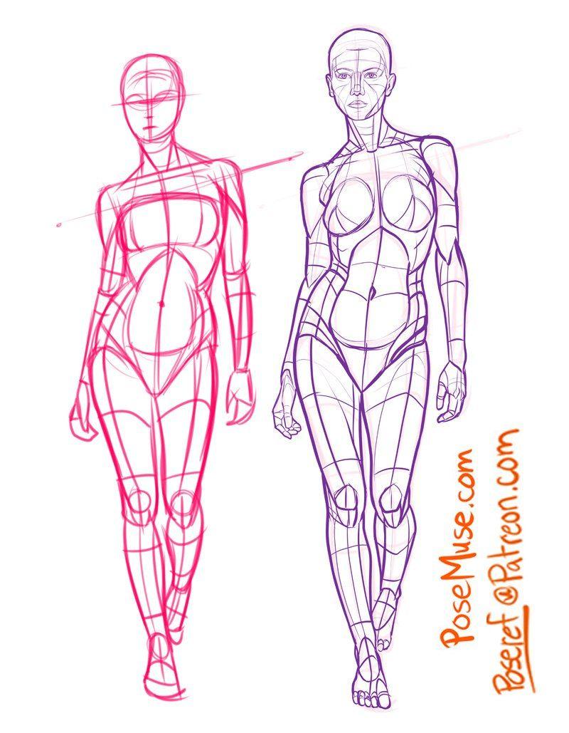 Диалоги | Anoto | Pinterest | Anatomie, Posen und Figuren
