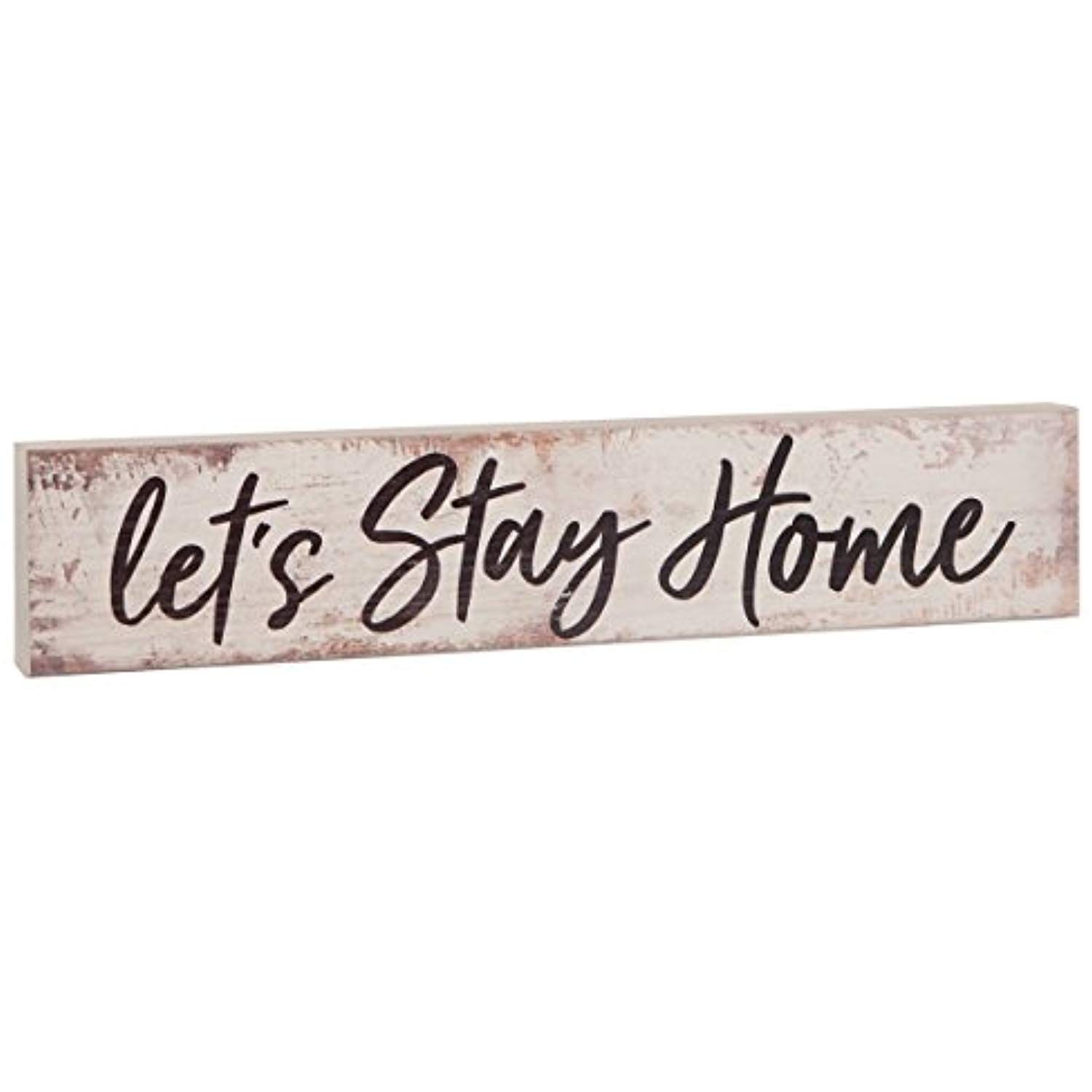 Word Quote Signs Lets Stay Home Rustic Wood Sign Lets Stay Home Wood Sign Lets Stay Home Sign Large Wood Lets Stay Home Sign