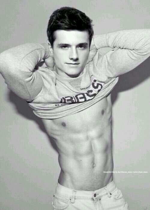 Josh Hutcherson... Iu0027m Drawing Abs And You, Handsome, Are My Template.