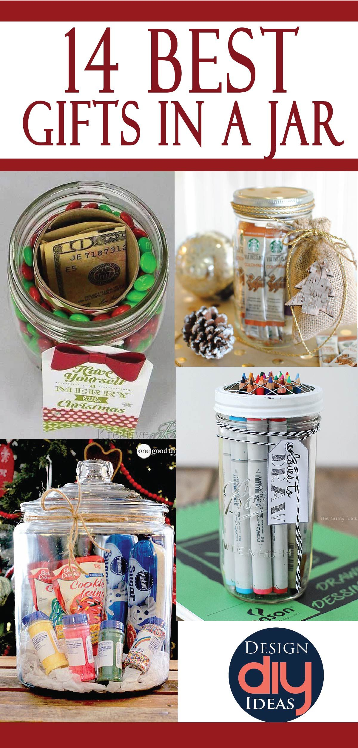 Check Out The Best Jar Gifts On Pinterest On One Site Jar Gifts Pinterest Christmas Gifts Christmas Jar Gifts