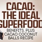 Being that February is the month of love— or should I say month of chocolate— I wanted to emphasis the amazing health benefits of dark chocolate and more specifically cacao. Just like other herbs and spices such as turmeric and cinnamon, the cocoa...