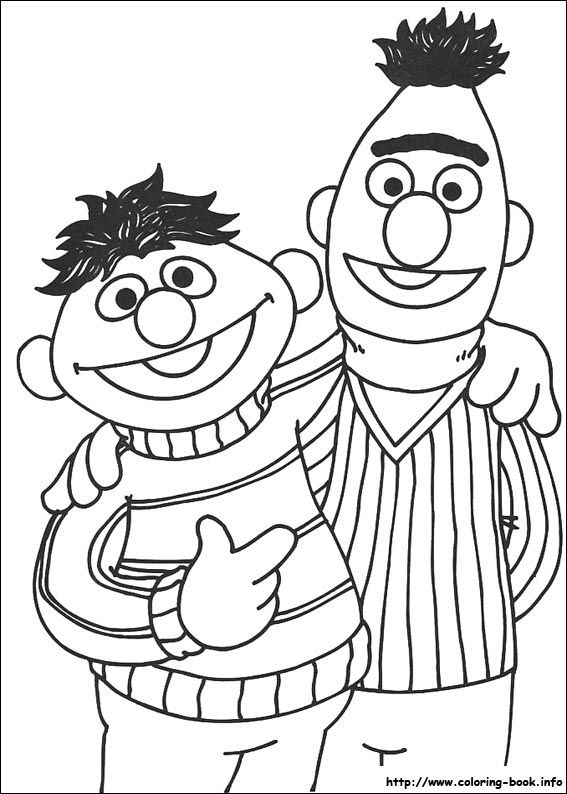 Sesame street coloring picture characters not disney for Grover sesame street coloring pages