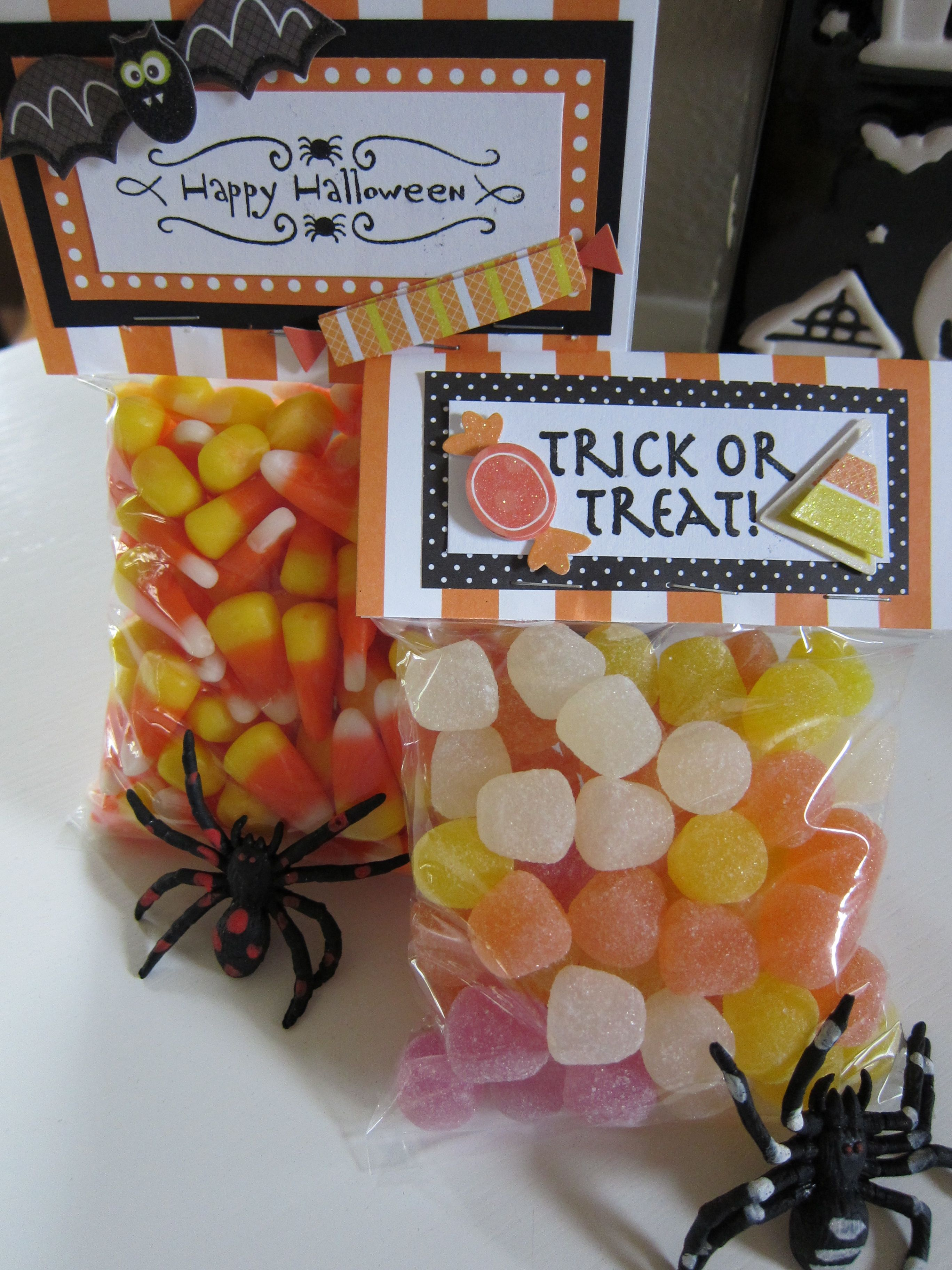 halloween goodie bags | goodie bags, bag and holidays