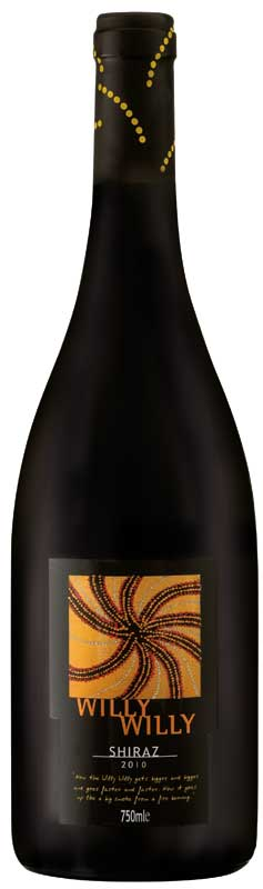 Willy Willy -- A wonderful Shiraz with a funny name.