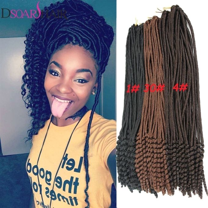 5 7 1pack Crochet Hairstyles Faux Locs Curly Ends