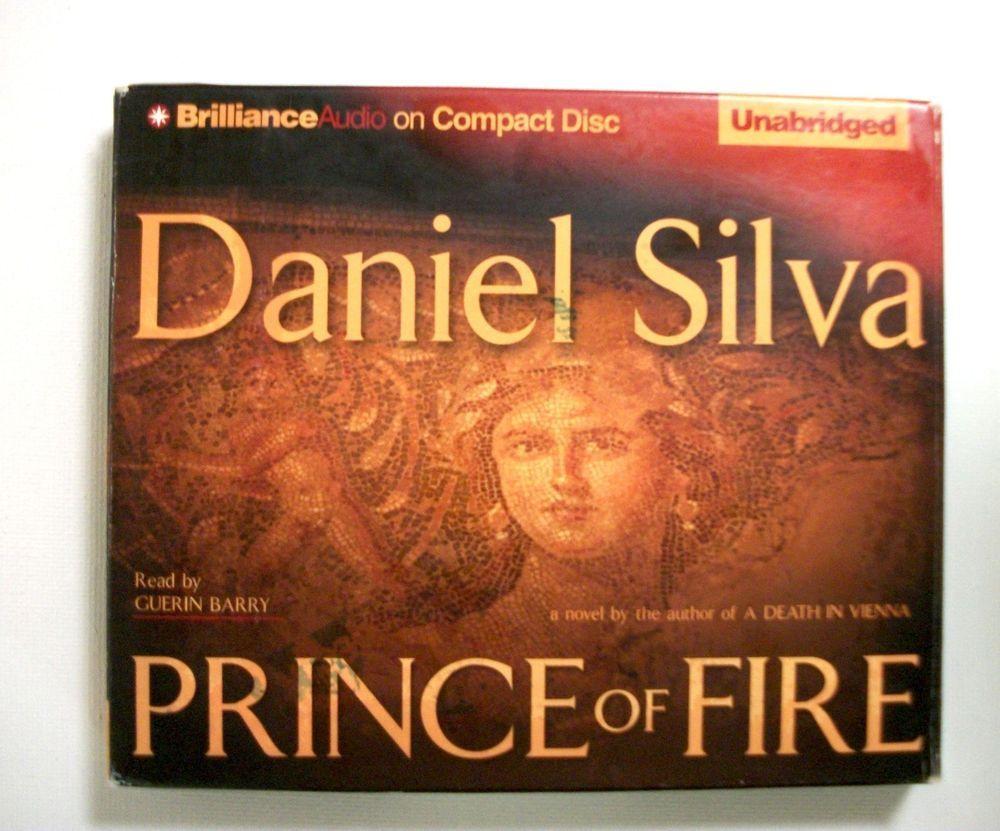 Prince of Fire Daniel Silva Unabridged Audiobook Mystery