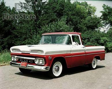 1960 Gmc With Factory Hood Ornament Jet With Intakes Classic Trucks Chevy Trucks Gm Trucks