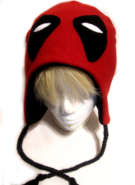 Deadpool Fleece Hat | Pinterest | Stoffe, Geburtstage und Geschenk
