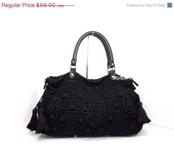 b5467ae33d ***INSPIRED BY GERARD DAREL DUBLIN 24 Hour HANDBAG*** DESCRIPTION  100%  Hand crocheted handbag.  A bag made of High tenacity nylon yarn.  Bag