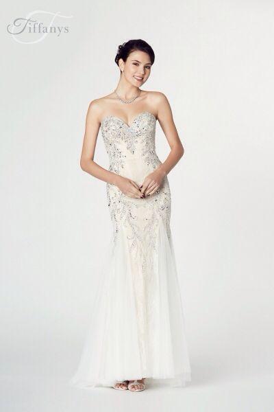 Fantasia By Tiffany Prom Ivory Prom Dress Available At Bridal