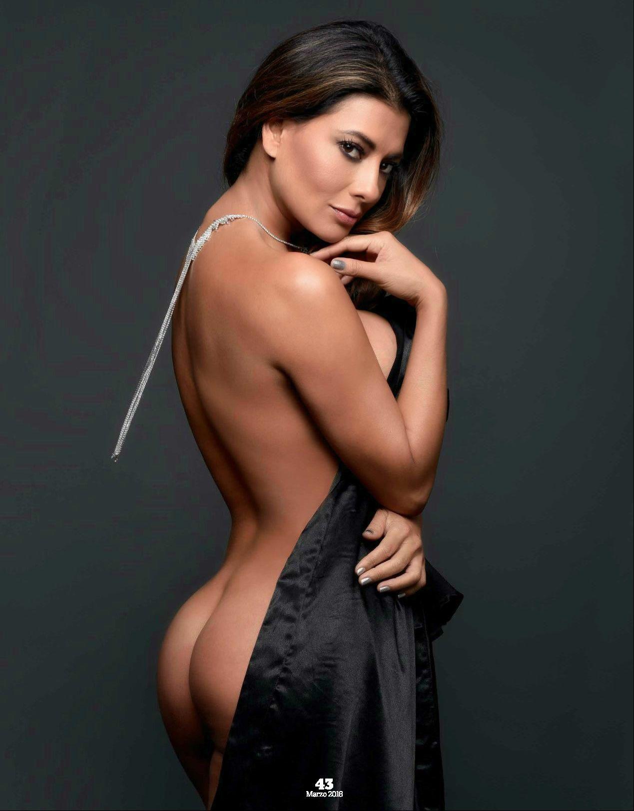 Colombian nude modeller
