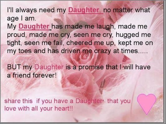 inspirational daughter quotes | life inspiration quotes: Needing