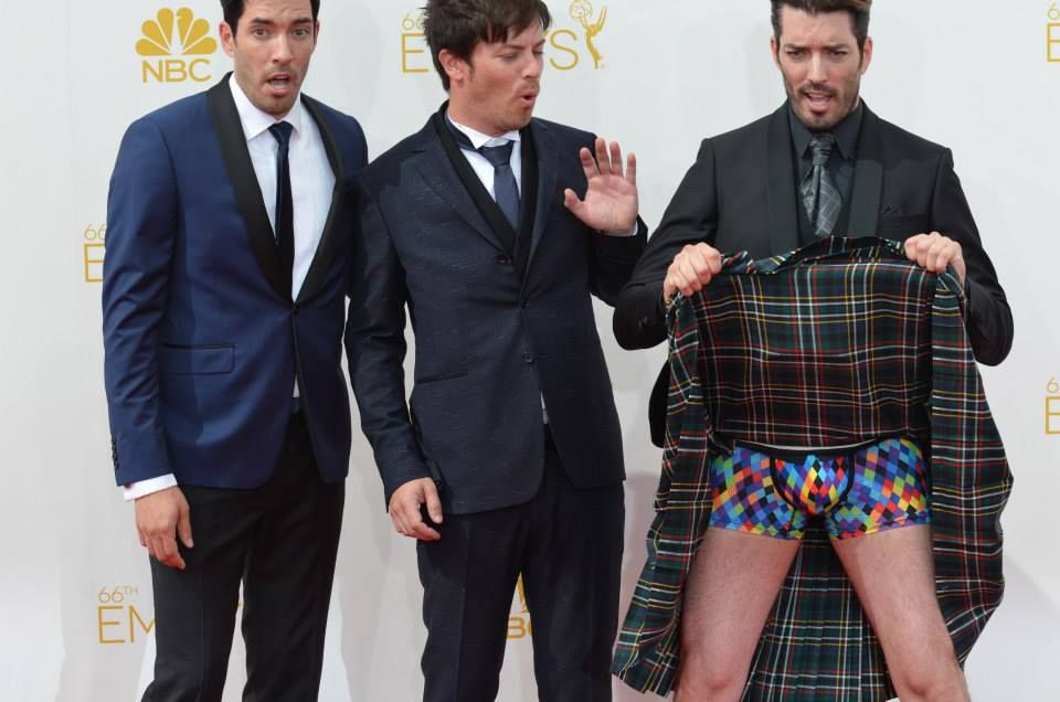Jonathan Drew Scott The Property Brothers And The Kilt