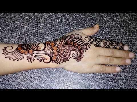 New mehndi designs for Girls   Latest heena designs for girls   Elegent Mehndi With Tayyaba - YouTube