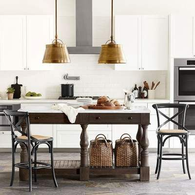Winfield Double Kitchen Island Products Pinterest Kitchens