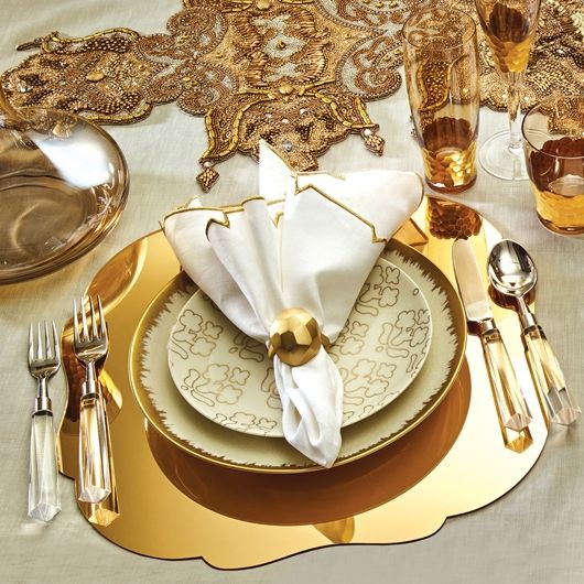 Acrylic Mirror Placemat By Kim Seybert In 2019 Dining