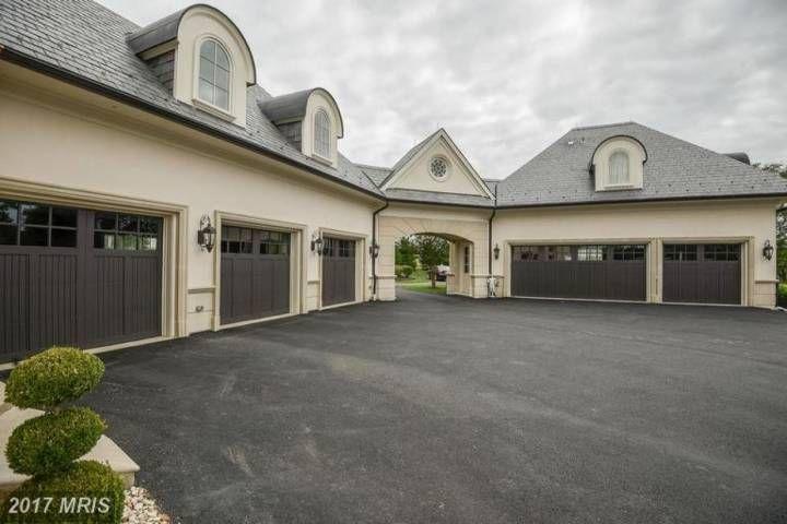 Detached 6 Car Garage 22781 Creighton Farms Dr Leesburg Garage House Plans Garage Design Garage House