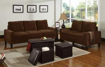 Chocolate Brown Leather Sectional Sofa With 2 Storage Ottomans Mattress Pad For Twin Bed This Recliner Will Make Your Home Beauty Furniture 5 Pc Two Tone Microfiber Living Room Set Love Seat And 3 Ottoman Includes The Large