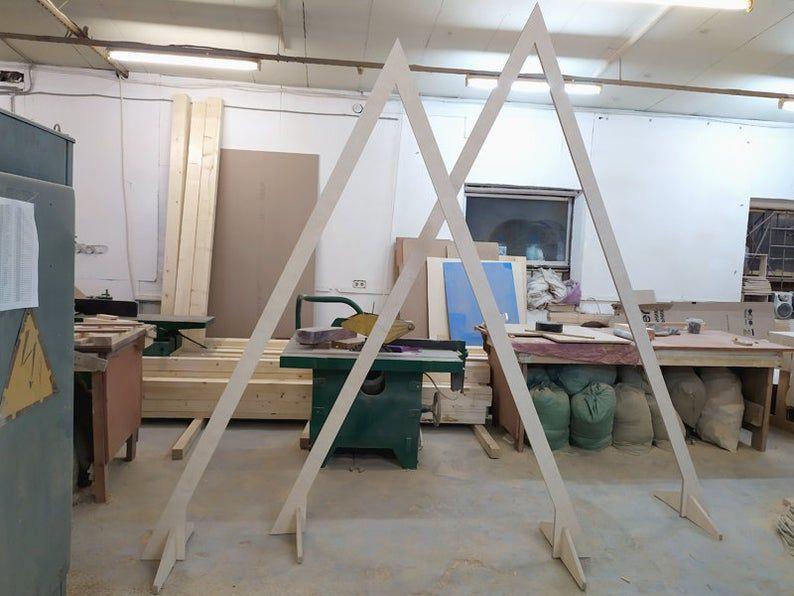 34+ Triangle wedding arch diy ideas