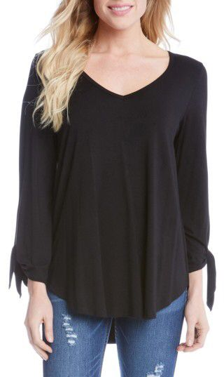 8c1c7563 Women's Karen Kane Tie Sleeve V-Neck Top | Style-Fashion | Tops, V ...