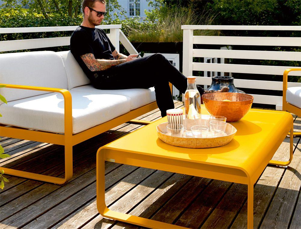 Fermob Bellevie Couchtisch, Niedriger Tisch Als Ergänzung Zu Den Bellevie  Loungemöbeln. Bellevie Couchtisch Von Fermob Hier Online Kaufen!