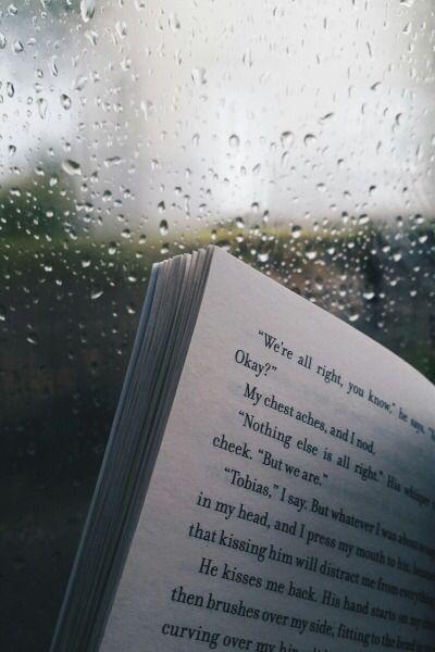 Reading + Rain ~Divergent~ ~Insurgent~ ~Allegiant~ - #Allegiant #Divergent #Insurgent #rain #Reading